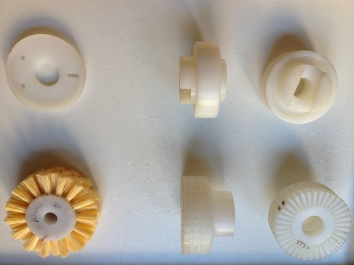 Izrada plastičnih delova i četkica